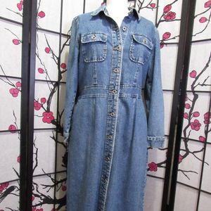Willi Smith Jean dress, jean jacket, jean dress